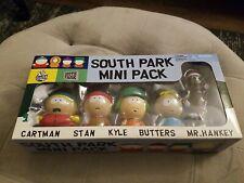 Vintage South Park Mini Pack 04' comedy central figure set of 5
