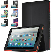 Amazon Fire HD 10 2019 Tablet Case , Poetic Cuero Ligero De pie Cubierta