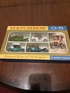 matchbox models of yesteryear