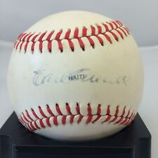 RARE  EARL AVERILL SINGLE SIGNED AUTOGRPAHED 1979 ALL STAR GAME BASEBALL JSA COA