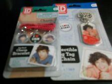 1D 1 DIRECTION CHARM BRACELET & DOG TAGS  NEW