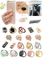 360° Rotating Metal Finger Ring Kickstand Stand Holder Universal Cell Phone Hook