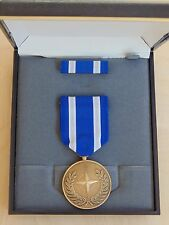 MARINE CORPS & FLEET MARINES MEDAL & RIBBON SET NATO ISAF W/ BAR NEW IN CASE #9
