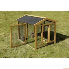Gabbia recinto in legno per animali conigli roditori volatili galline pollaio
