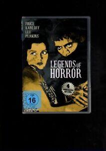 Price Karloff  Lee Perkins   LEGENDS OF HORROR   (DVD)