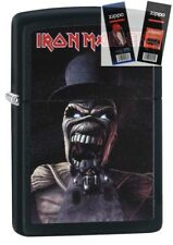 Zippo 29576 Iron Maiden Lighter with *FLINT & WICK GIFT SET*