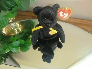 TY Beanie Baby - HAUNT Bear HOLLOWEEN Plush collectible toy BUY NOW