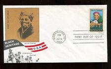 #1744 13c Harriet Tubman Fdc Black Heritage Spectrum Cachet Ua Fd5913