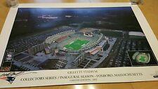 2002 New England Patriots Gillette Stadium Limited edition 53/2002 Print