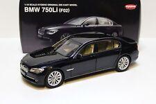 1:18 KYOSHO BMW 750li (f02) Black New chez premium-MODELCARS