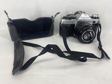Canon AE-1 Program 35mm Film Manual Camera w/ 50mm F1.8 Lens  Leather  (#580)