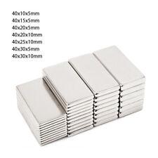 Neodym Magnete N35 Magnete Quader 40mm Starke Supermagnete Quadermagnet Magnete