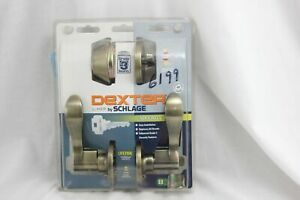 Dexter By Schlage 31218 Antique Brass Finish Grade 3 Security NEW A076
