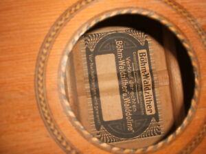 original waldzither hamburger böhmische cister walddoline böhm cittern 9strings