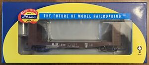 ATHEARN RTR HO SCALE BANGOR & AROOSTOOK/BAR 40' PULPWOOD CAR - ROAD #1382