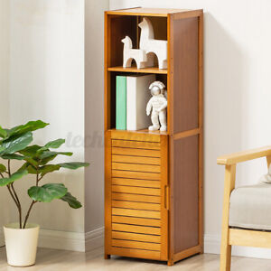 4 Layers Bookshelf Bedside Cabinet Drawer Storage Bedroom Nightstand Shelf Rack
