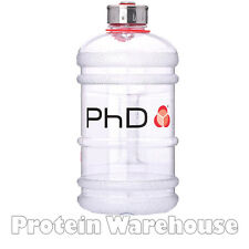 PhD Jug 2.2 L Litre Capacity Clear Water Bottle For Pre Workout 24 Jugs Left