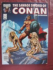 Savage Sword of Conan # 100   When A God Lives