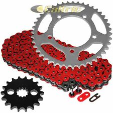 Red O-Ring Drive Chain & Sprocket Kit Fits SUZUKI GSX-R1300R Hayabusa 2008-16