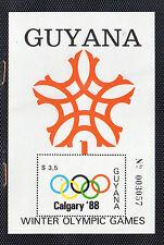 Guayana Deportes olimpiada Calgary año 1988 (CP-303)
