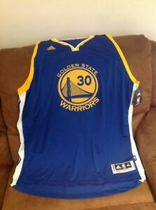 adidas stephen curry #30 golden state warriors Nba jersey NWT SiZe 4XL Lenght +2