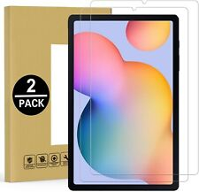 (2 Pack) For Samsung Galaxy Tab S6 Lite Tempered Glass Screen Protector