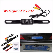 Waterproof 7LED Car Rear View Backup Camera Parking Reverse Back Up Camera CMOS