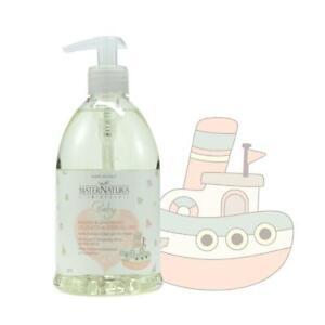 MaterNatura Baby Bagno e Shampoo delicato ai Fiori di Lino 500 ml