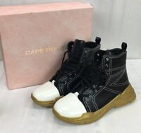 Cape Robbin Womens SZ 10 High Top Shoes Collage Boots New