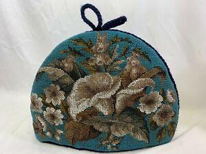 Antique Victorian Beadwork Tea-Cosy Excellent Condition