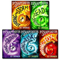 Ali Sparkes Shapeshifter Collections  5 Books Collection Set(Stirring the Storm)