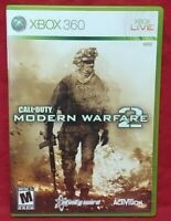 Call of Duty Warfare 2 Microsoft Xbox 360 Game Complete 1 Owner Near Mint Disc