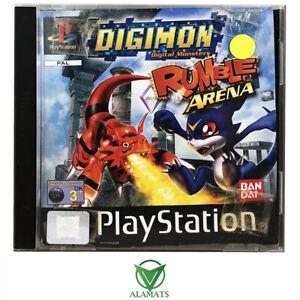 Digimon Rumble Arena PS1 [GI] PAL Fighting