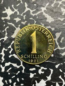 1971 Austria 1 Schilling Lot#X2210 Proof