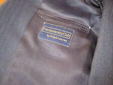 vintage Ralph Lauren Polo University Club gray herringbone SUIT jacket pant 39 R