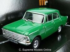 MOSKVICH 408 CAR MODEL 1/43RD SCALE PACKAGED 4 DOOR SALOON ISSUE BXD K8967Q~#~