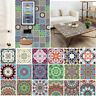 6Pcs Self-adhesive Moroccan Style Waterproof Wall Tile Stickers Kitchen Bathroom