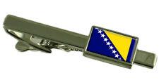 Bosnie & Herzégovine Pince à Cravate - Barre avec Select Gifts Pochette