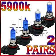 9005&9006 100W 5900K SUPER WHITE XENON HID LIGHT BULBS COMBO - LOW & HIGH BEAM