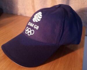 Team GB London 2012 Olympics Hat Cap Adidas Blue New