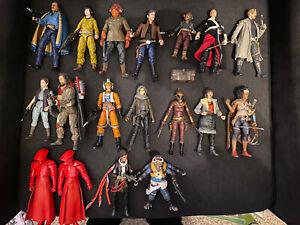 Star Wars Black Series 6 Inch Mega Lot Rogue One Solo Last Jedi Force Awakens