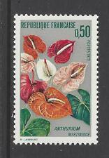 FRANCE # 1356  MNH  FLOWERS ANTHURIUM