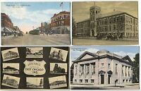 6 1910- 1920's era East Chicago Indiana Postcards