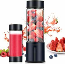 REDMOND Portable Blender 5000mAh USB Rechargeable 16oz Glass Travel Juicer BL014