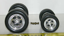 Muscle Machines Parts 1:18  Wheels & Tires For Customizing Car Builders RC A