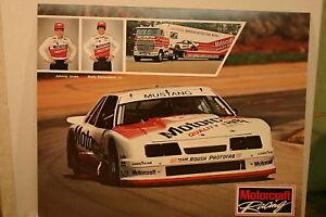 MOTORCRAFT ROUSH MUSTANG IMSA 1985 DALLENBACH HERO CARD