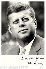 John F.Kennedy ++Autogramm++ ++US Präsident++
