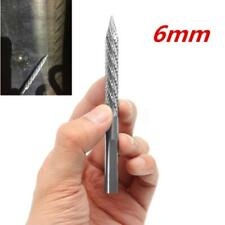 6mm Pneumatic Drill Bit Car Tire Puncture Needle File for Mushroom Nail Patch 1x