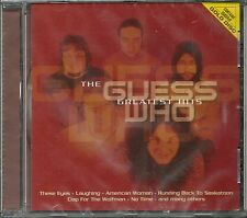 Guess Who, The Greatest Hits SBM Gold CD Neu OVP Sealed Audiophile Legend