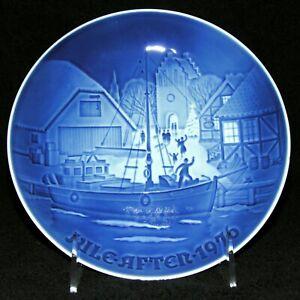 Bing Grondahl B G 1976 Christmas Vintage Plate Christmas Welcome